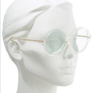 CELINE 58mm round sunglasses